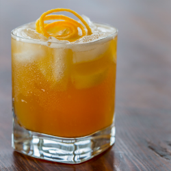 Spiced Rum Sour