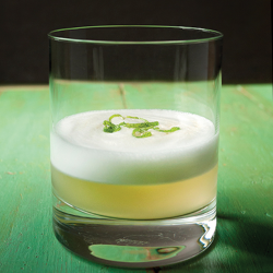 Lemongrass Sour Cocktail