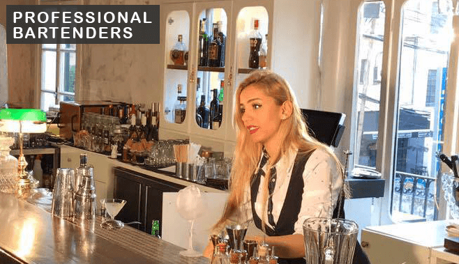 Professional Bartenders